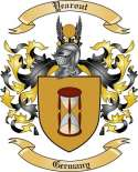 Yearout Family Coat of Arms from Germany