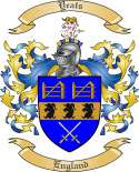 Yeats Family Coat of Arms from England