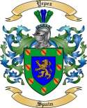 Yepez Family Crest from Spain