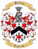 Yokley Family Crest from England