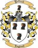 Yolland Family Coat of Arms from England