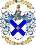 Yorke Family Coat of Arms from England