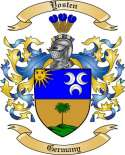 Yosten Family Coat of Arms from Germany