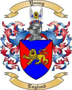 Young Family Crest from England2