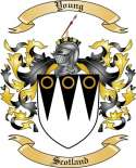 Young Family Crest from Scotland