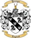 Younger Family Coat of Arms from England