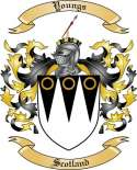 Youngs Family Coat of Arms from Scotland