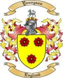 Youngson Family Crest from England