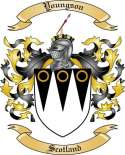 Youngson Family Crest from Scotland