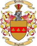 Ysabelle Family Crest from England