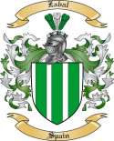 Zabal Family Coat of Arms from Spain