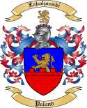 Zabohonski Family Coat of Arms from Poland
