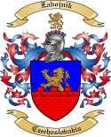 Zabojnik Family Coat of Arms from Czechoslovakia