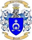 Zagrzejewski Family Crest from Poland