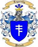 Zagursky Family Crest from Poland