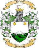 Zaiser Family Crest from Germany