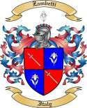 Zambetti Family Crest from Italy