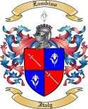 Zambino Family Coat of Arms from Italy