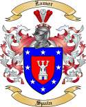 Zamor Family Coat of Arms from Spain