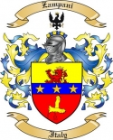 Zampani Family Crest from Italy