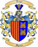 Zaya Family Coat of Arms from Spain
