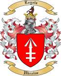 Zayatz Family Coat of Arms from Ukraine