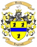 Zeale Family Coat of Arms from England