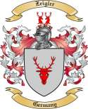 Zeigler Family Coat of Arms from Germany2