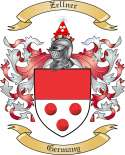 Zellner Family Coat of Arms from Germany