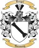 Zengel Family Crest from Germany