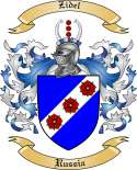 Zidel Family Crest from Russia
