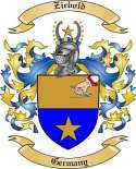 Ziebold Family Coat of Arms from Germany