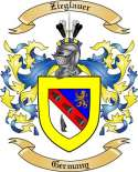 Zieglauer Family Crest from Germany