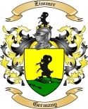Zimmer Family Coat of Arms from Germany