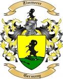 Zimmerer Family Coat of Arms from Germany