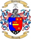 Zimmerle Family Crest from Germany2