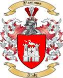 Zissimos Family Crest from Italy