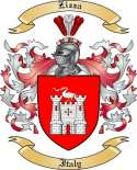 Zizza Family Coat of Arms from Italy