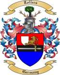 Zollers Family Crest from Germany