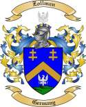 Zollman Family Crest from Germany