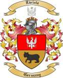 Zwietz Family Crest from Germany