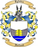 Zylstra Family Crest from Holland