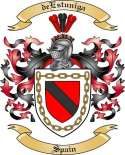 deEstuniga Family Coat of Arms from Spain