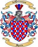 deQuinones Family Coat of Arms from Spain