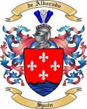 de Albarado Family Crest from Spain2
