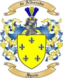 de Albarado Family Crest from Spain