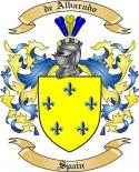 de Albarado Family Crest from Spain