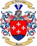 de Alvarado Family Crest from Spain2