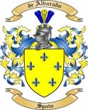 de Alvarado Family Coat of Arms from Spain