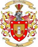 de Arredondo Family Coat of Arms from Spain